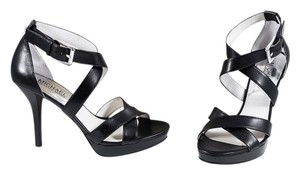 Michael Kors Sandal Leather Black Sandals