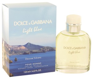 Dolce&Gabbana LIGHT BLUE DISCOVER VULCANO Mens EDT Spray~ 4.2 oz/125 ml