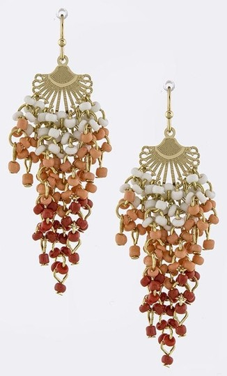 Preload https://item5.tradesy.com/images/multi-color-coral-and-red-seed-bead-cascade-earrings-1258179-0-0.jpg?width=440&height=440