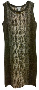 Carmen Marc Valvo Sparkle Petite Dress