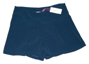 See by Chlo Chloe Chloe Made In Italy Designer Summer Mini/Short Shorts Navy
