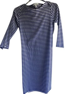Banana Republic short dress blue and white on Tradesy