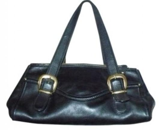 Preload https://item5.tradesy.com/images/michael-kors-all-black-leather-shoulder-bag-12584-0-0.jpg?width=440&height=440