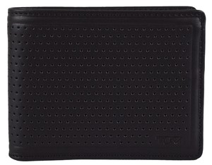 Tumi NEW Tumi Men's Perforated Leather 019734 Bowery Double Billfold Bifold Wallet