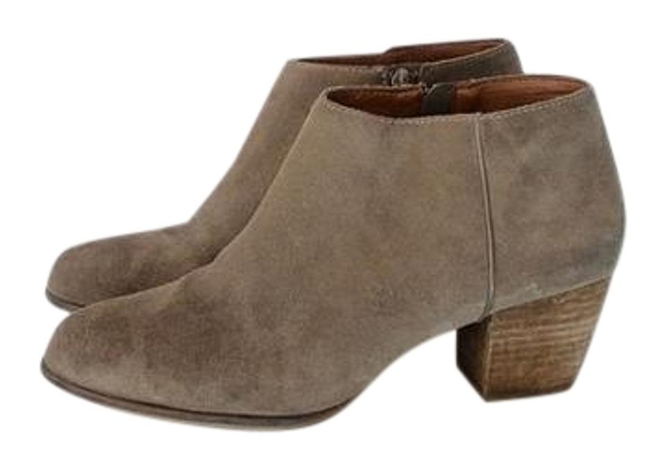 Lucky Boots/Booties Brand Brown Western Suede Boots/Booties Lucky 03ed4d