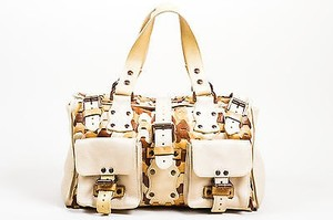 Mulberry Cream Tan Brown Tote in Beige