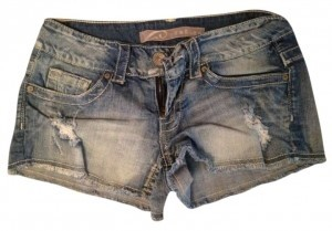 Refuge Jeans Mini/Short Shorts faded blue