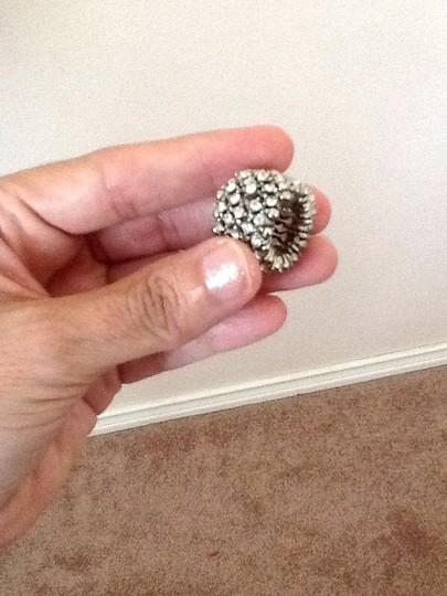 Other NWOT Clear Rhinestone Expandable Ring