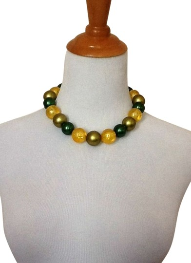 Other Yellow & Green Statement Necklace