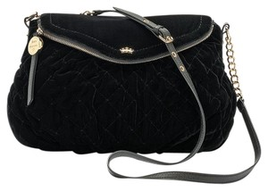 Juicy Couture Quilted Velvet Cross Body Bag