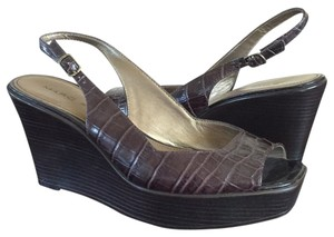 Marc Fisher Brown Wedges