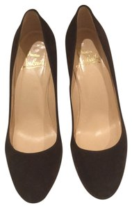 Christian Louboutin Brown suede Pumps