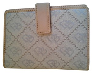Dooney & Bourke Monogram Leather Wallet Organizer Clutch