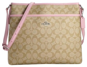 Coach Lightweight Signature Cross Body Bag