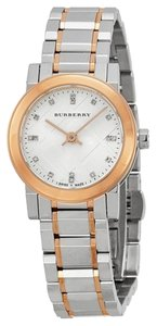Burberry Burberry The City Diamond Accent Two Tone Women's Watch BU9214