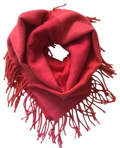 Casual Corner Red Colorblock Scarf