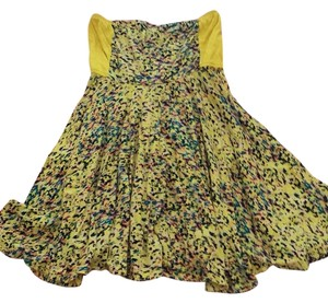 Hurley short dress Yellow on Tradesy