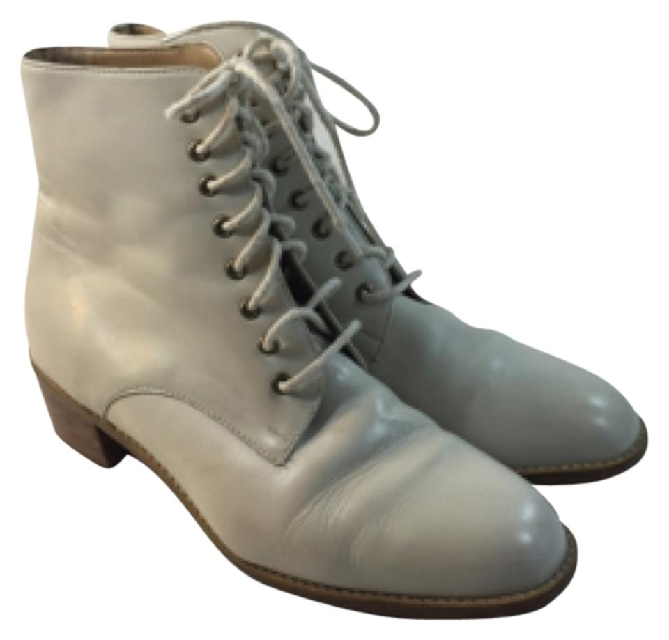 41881bff8ca9 iPANEMA Ivory Lace Up Ankle Boots Booties. Size  US 7.5 Regular (M ...