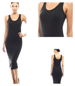 Black Maxi Dress by Tank Summer Beach