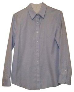 Jones New York Button Down Shirt Light blue