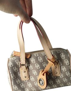Dooney & Bourke Vintage gray monogram Clutch