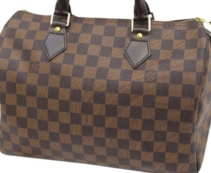 Louis Vuitton Speedy Damier Speedy 30 Damier Speedy 30 Damier 30 Speedy Satchel in brown