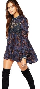 Free People short dress Midnight on Tradesy