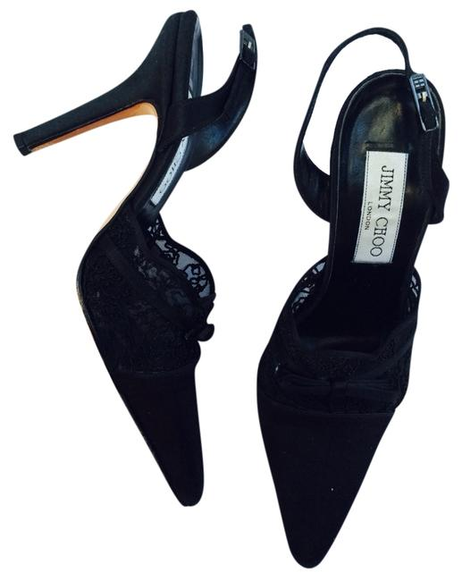 Item - Satin Pumps Wedges Size US 5.5 Regular (M, B)