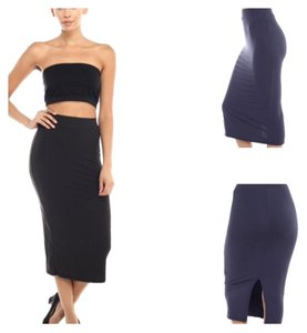 Maxi Seamless Slimming Skirt Black