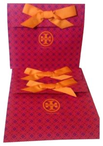 Tory Burch Set of 3 tory burch gift bags Measurements: 12 x 5 x 10.5 in.