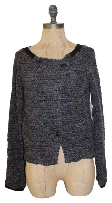 Item - Gray and Marled Knit Jacket Size 2 (XS)