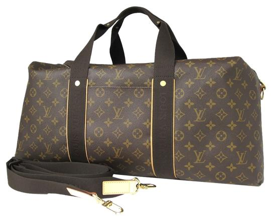 louis vuitton monogram canvas weekender beaubourg gm brown travel bag tradesy. Black Bedroom Furniture Sets. Home Design Ideas