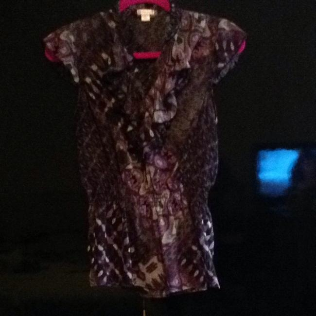 Preload https://item2.tradesy.com/images/xhilaration-top-multi-purple-blk-grey-and-white-1259051-0-0.jpg?width=400&height=650