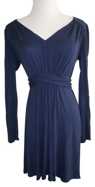 French Connection short dress Navy Tie Wrap Around on Tradesy