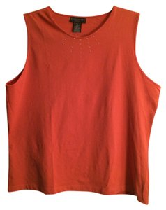 Banana Republic Decoration Stretch Top Burnt orange
