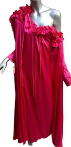 Lucie Ann Lingerie Nightgown Robe Silk Dress