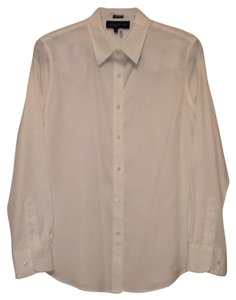 Jones New York Button Down Shirt White