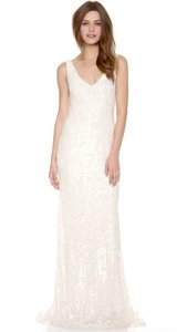 Theia Sequined Sleeveless Scoop Neckline Gown By Theia Bridal #890060 Wedding Dress