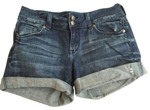 dELiA*s Cuffed Shorts Blue