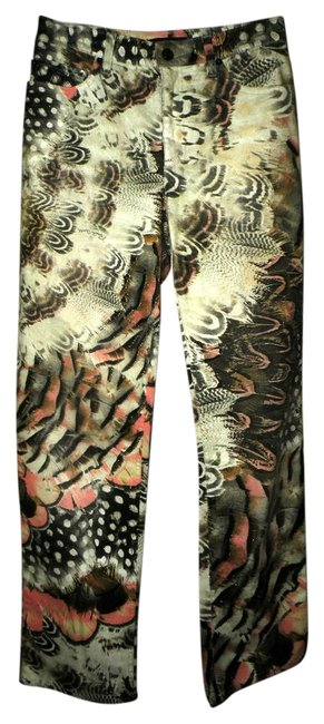 Item - Multicolor Designer Color with Name In Design Pants Size 2 (XS, 26)