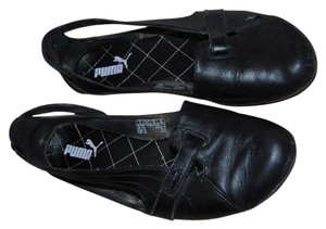 Puma Sneakers Leather black Mules