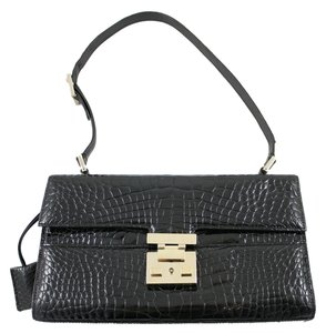 Gucci Alligator Shiny Glossy Luxury Shoulder Bag