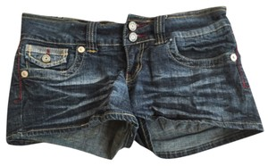 Hydraulic Mini/Short Shorts Blue