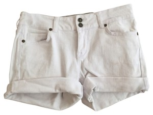 dELiA*s Cuffed Shorts White