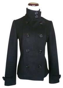 Forever 21 21 Wool Double Jacket Pea Coat