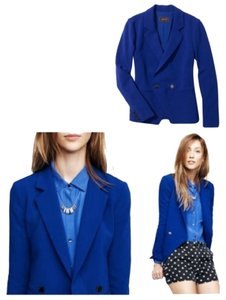 Madewell Jacket Coat Blue Blazer