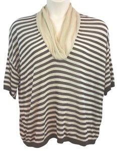 DONNAEFFE MILANO Brown Knit Top