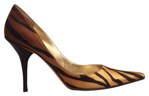 Michael Kors Tiger Print Pointy Toe Ombre Pumps