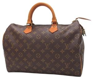 Louis Vuitton Speedy 35 Speedy 35 Handbag Satchel in brown