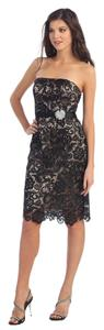 May Queen Short Lace Dress